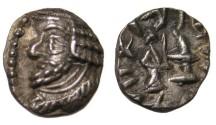 Ancient Coins - Persis Oxathres Ca 50-1 BC AR Obol