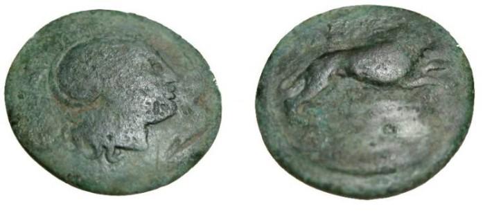 Ancient Coins - Thrace Lysimachos 323-298 BC AE21 S-6819 Eastern Celtic Imatation