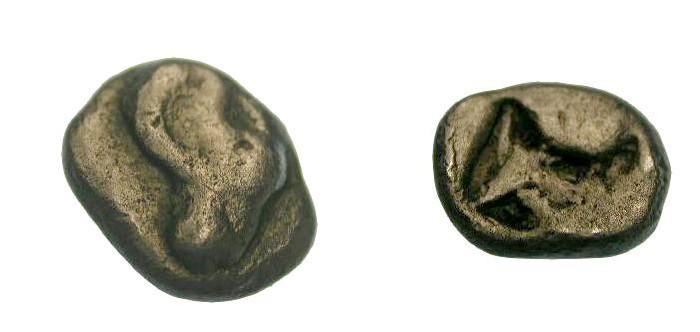 Ancient Coins - Troas Kebren 480-450 BC AE Hemi-obol