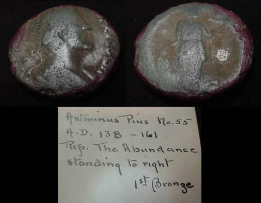 Ancient Coins - Antoninus Pius 138-161AD