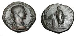 Ancient Coins - Severus Alexander 222-235AD AE Sestertius RIC 446