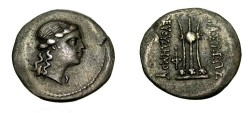 Ancient Coins - Bactria Euthydemos II Ca 190-171 BC Nickel Didrachm S-7540 Scarce