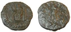 Ancient Coins - Indo Skythian Azes II Ca 35BC-5AD AE Penta Chalkon