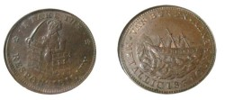 "Us Coins - 1837 HT-69 ""I Take the Responsibility"" TOKEN MS 63 BN"