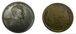 Us Coins - 1918-S Lincoln Brwn Unc