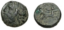Ancient Coins - Thessaly The Magnetes AE20 196-146BC S-2138