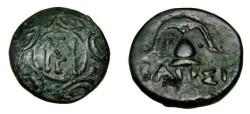 Ancient Coins - Macedonian KingdomDemetrios Poloketes 294-288 BC AE15 S-6774