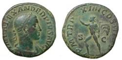 Ancient Coins - Severus Alexander 221 - 235 AD AE Sestertius