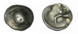 Ancient Coins - Alexander III Celtic Drachm Danbue area
