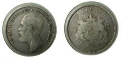 World Coins - Sweden 2 Kroner 1877