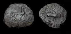 Ancient Coins - Indo Skythian Azes II Ca. 35BC - 5AD