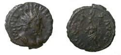 Ancient Coins - Tetricus AE Antinianus Rev Hiliaritas S-3100