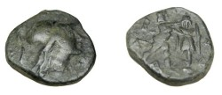 Ancient Coins - Macedonian Kingdom Antigonos Gonatas 277-239 BC AE 17 S-6786
