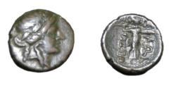 Ancient Coins - Thessaly, Thessalian League Larissa 196-146 BC AE 19 6.29 gm