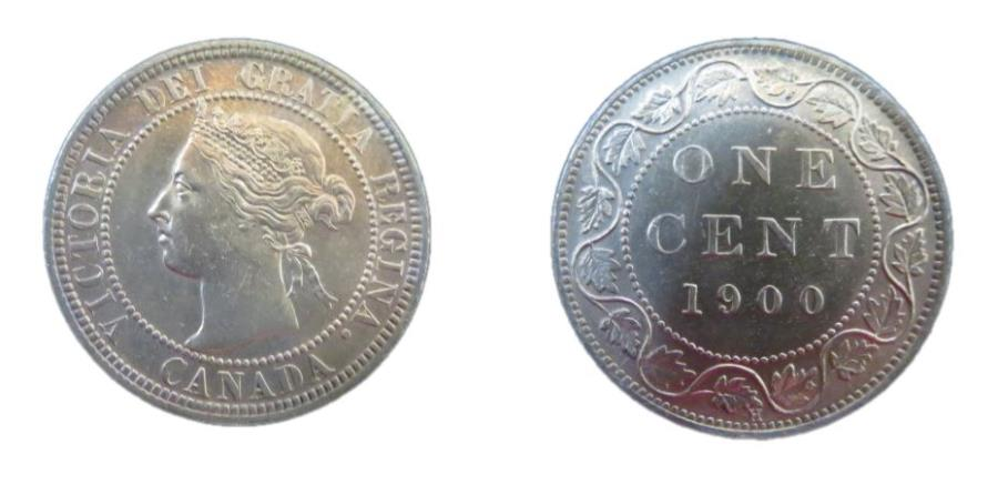 World Coins - Canada Victoria Cent1900 H