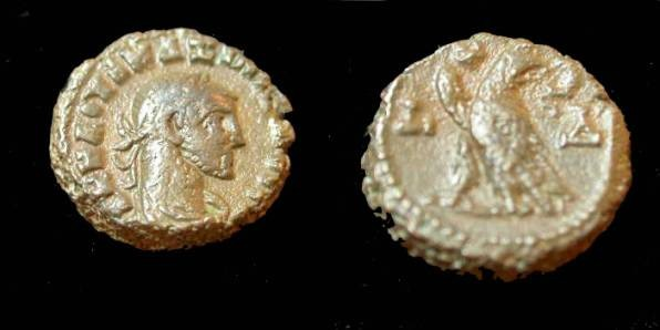 Ancient Coins - Roman Egypt Maximinianus 286-305 AD
