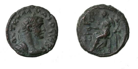 Ancient Coins - Claudius II 268-270 AD Billion Tetradrachm Diakiosyne Standing L