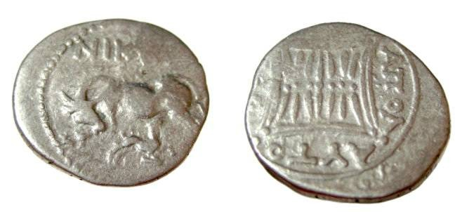 Ancient Coins - Appolonia, Illyria, minted ca 229-30 BC moneyer NIKHN