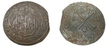 World Coins - Sweden Christina 1632-1654 Avesta 1 Ore 1650 MDCXL KM# 162.2