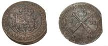 World Coins - Sweden Christina 1632-1654 Avesta 1 Ore 1647 MDCXLVII KM# 162.2