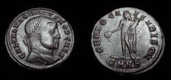 Ancient Coins - Maximinus  305-313 AD AE Follis
