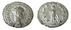 Ancient Coins - Trajan Decius  249-251 AD  AR Denarius