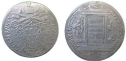 World Coins - Clement X  Scudo 1675 KM371 Mounted