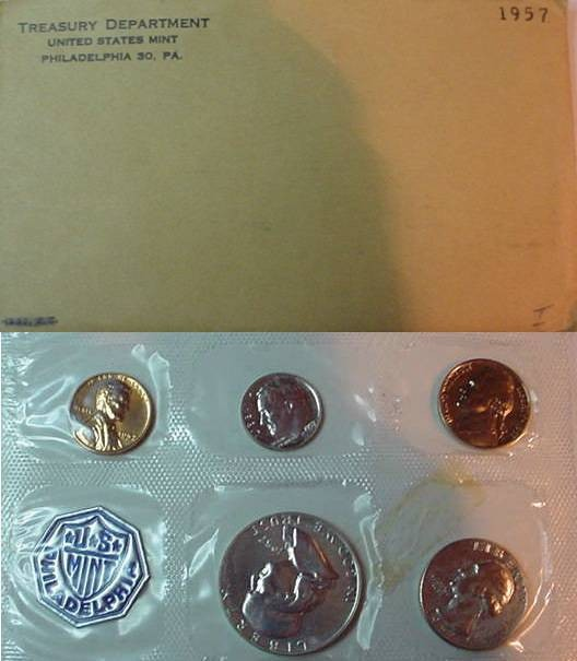 US Coins - 1957 US Proof Set