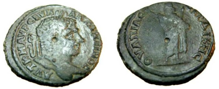 Ancient Coins - Caracalla AE32 Serdica 198 - 217 AD