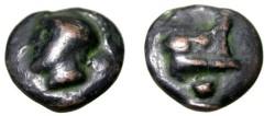 Ancient Coins - ROME 240-225 B.C.: AE aes grave uncia