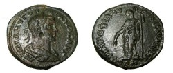 Ancient Coins - Gordian III Æ26 mm of Markianopolis. Demeter standing left with grain ears and long torch.