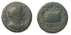 Ancient Coins - Valerian I Syria Coele Heliopolos 253- 260 AD AE 26