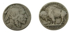 Us Coins - 1927-D Buffalo Nickel