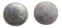 World Coins - Great Britain  Anne Schilling  1711  KM-523.4