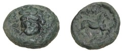 Ancient Coins - Thessaly Larissa AE 24 360-325BC S-2137