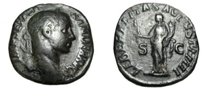 Ancient Coins - Phillip I 244-249 AD AE Sestertius RIC 750