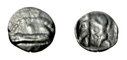 Ancient Coins - Phoenicia Sidon 1/8 shekel (before 333 BC) S-5940