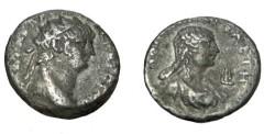 Ancient Coins - Egypt Nero Alexandria AE Tetradrachm Poppaga Yr10 S-713 BMC 122