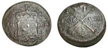 World Coins - Sweden Karl XI 1660-1697 1 Ore S.M. 1684 KM# 264b