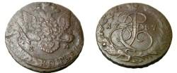 World Coins - Russia 1787EM 5 Kopeks