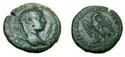Ancient Coins - Elagabalus Æ 26 Markianopolis Legate Julius Antonius Selecusus 218-222 AD