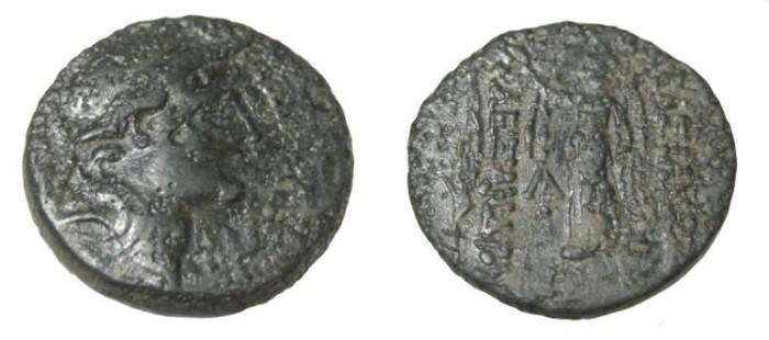 Ancient Coins - Seleukid Kings Alexander I Balas 150-145 BC AE19 S-7040