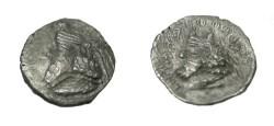 Ancient Coins - Persis Artaxerxes II son of Darius 1st Century BC AR Obol R! S# 5970 as 1/2 drachm