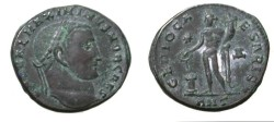Ancient Coins - Maximinus III AE Follis 311- 313 AD