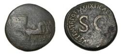 Ancient Coins - Tiberius AE Sestertius 14-37 AD RIC 66