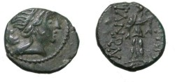 Ancient Coins - Thrace Messembria ca 250-175BC AE 19