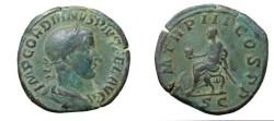 Ancient Coins - Gordian III 238-244AD AE Sestertius C.231