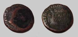 Ancient Coins - Tiberius 14-37 AD Illici AE28 Spain