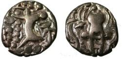 Ancient Coins - Gold stater, King Pratapaditya II, ca.5th century AD, Taxilla mint, Kidarites