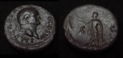 Ancient Coins - Vespasian AE As. 76 AD